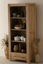 Alto Natural Solid Oak Bookcase