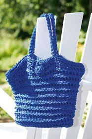 dámská letní háčkovaná taška z příze Anya