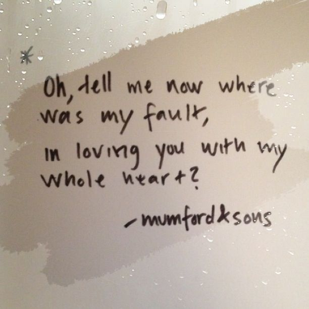 Image detail for -... life without music? // Dustbowl Dance- Mumford and Sons credits