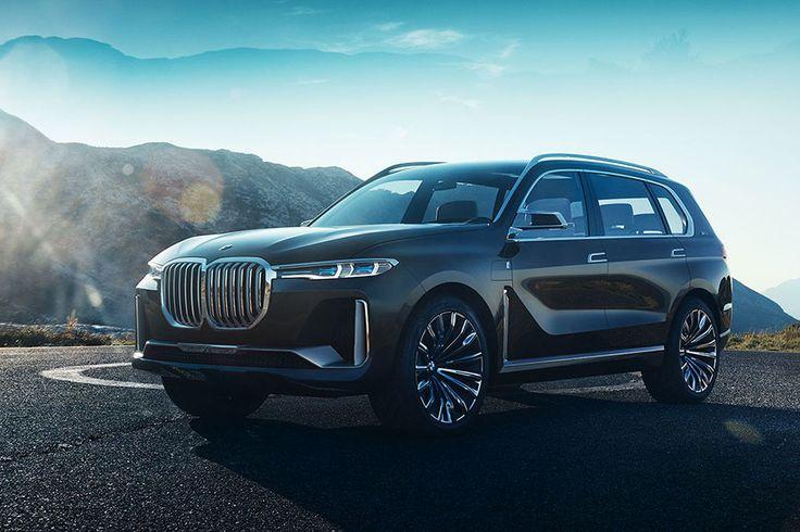 Легковые автомобили от мировых лидеров. BMW представила на автосалоне во Франкфурте концепт BMW X7 iPerformance. Компания взяла курс на увеличение продаж и прибыли в сегменте дорогих и роскошных автомобилей.