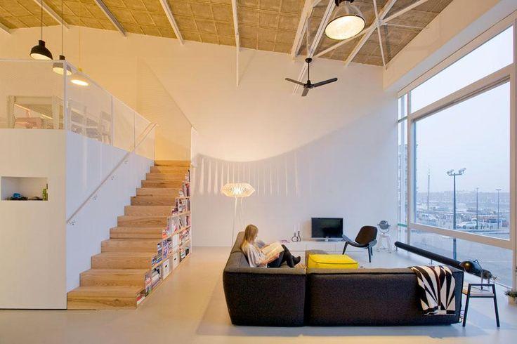Marc Koehler Architects, House like a village, i volumi, come casette indipendenti, contengono funzioni meno dinamiche come stanze da letto, bagni e magazzini
