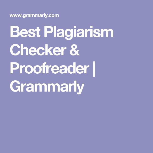 Best Plagiarism Checker & Proofreader   Grammarly