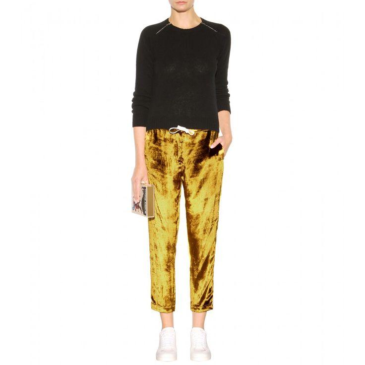 Rosie Assoulin - pantalon en velours