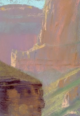 Bill Cone: Painting in The Grand Canyon