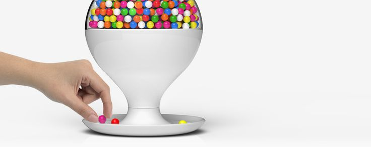 Emerson Motion Activated Candy Dispenser ~ Best lifestyle images on pinterest design products
