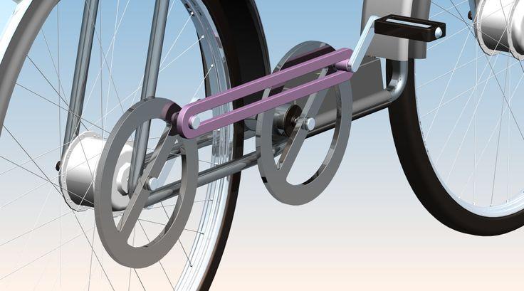 E-bike => no chain