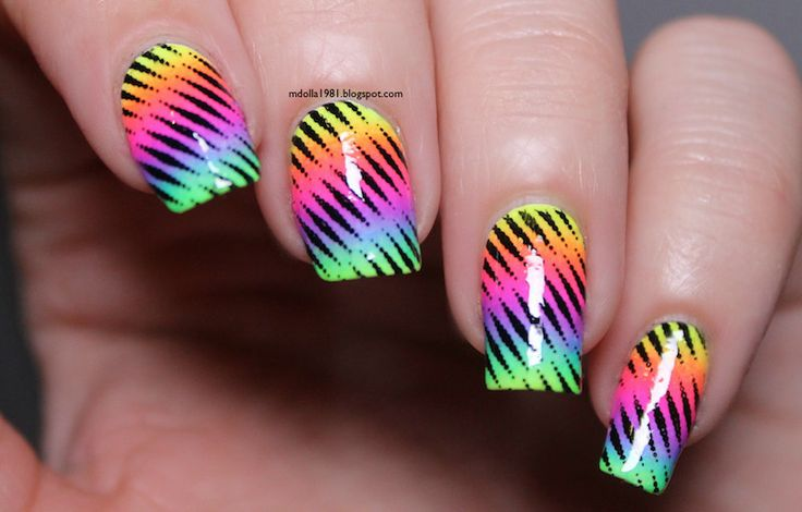 Mdollas nails: Csak a neon!!!