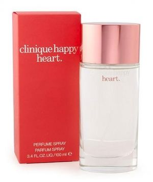 #Clinique Happy Heart by #Clinque.  This is currently my favorite perfume.  Smelling it does make me happy!
