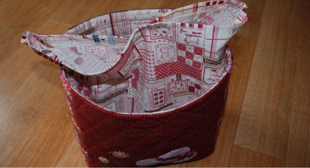 Lunch Bag Tutorial Sewing. Сумка для обеда