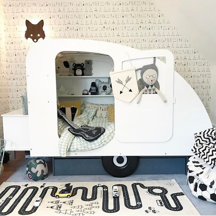 Travel the world each night in your dreams Love this boy's room styled and created by Verena Rees