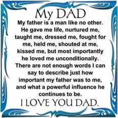 Missing my Dad on Father's Day . . . and every other day too