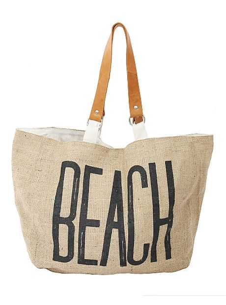 Natural Ramie Beach Bag | #BuddhaWear