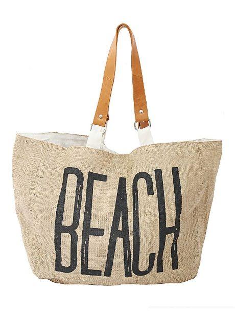 Natural Ramie Beach Bag | #BuddhaWear