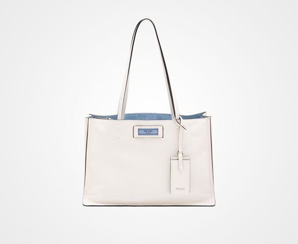Prada Eitiquette Logo Leather Lo... sale hot sale release dates online cheap sale pictures cheap good selling r3F95Ny6pc
