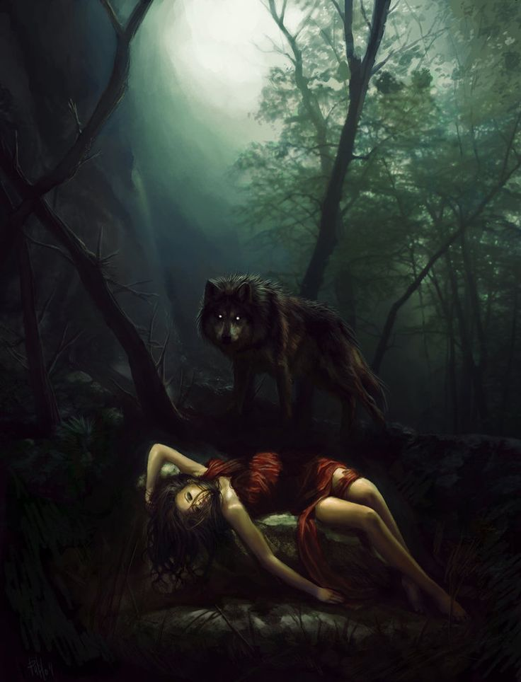 Red riding hood by TheBastardSon on deviantART