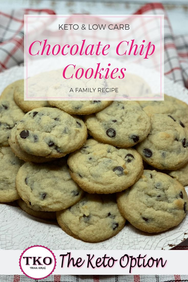 Chocolate Chip Cookies Keto Chocolate Chips Keto Chocolate Chip