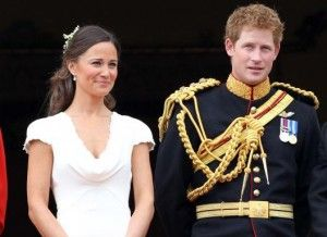 .The Royal Wedding of Kate and William - here is Pippa Middleton and Prince Harry