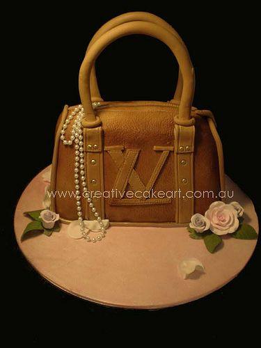 creative cake art handbags and shoes (13)