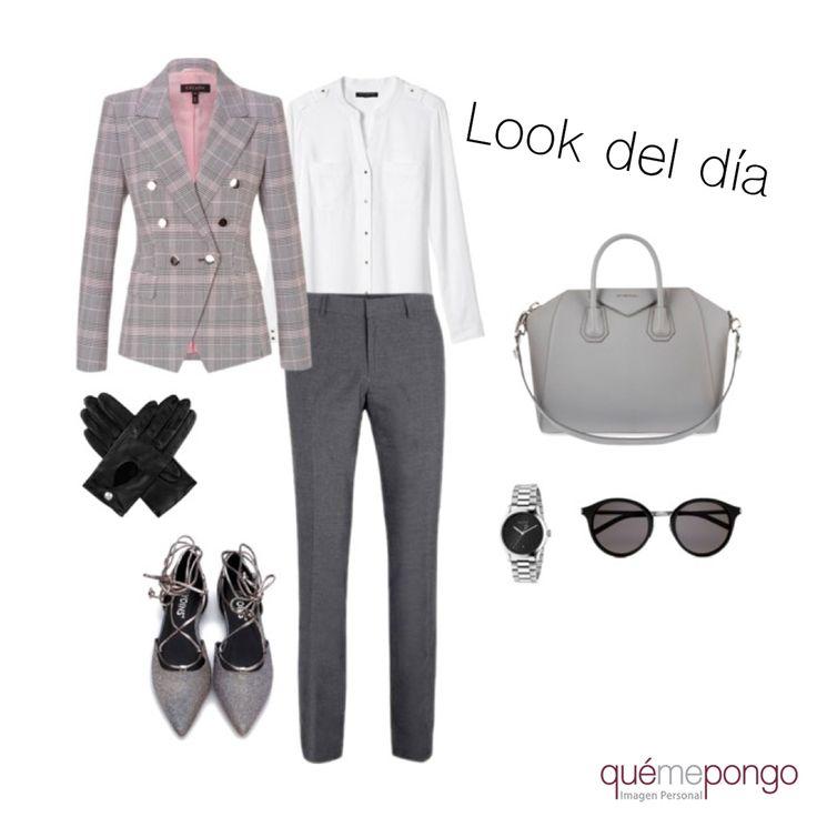 ¿Te gusta vestir business? Esta propuesta es la tuya, tu temporada de suerte, ¡¡Es tendencia!!   #qmp #quemepongo #look #outfitoftheday #outfit #lookdeldia #business #tendencias