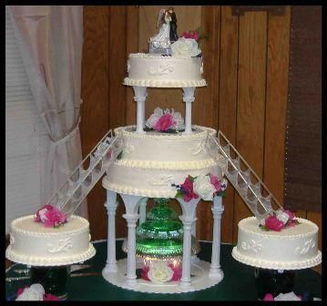 17 Best images about Tiered Cakes of Beauty on Pinterest | Beautiful wedding cakes, Cakes and ...