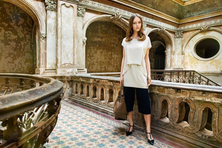 Deni Cler Milano, ss2016, campaign. Deni Cler - inspired by Italian style since 1972.