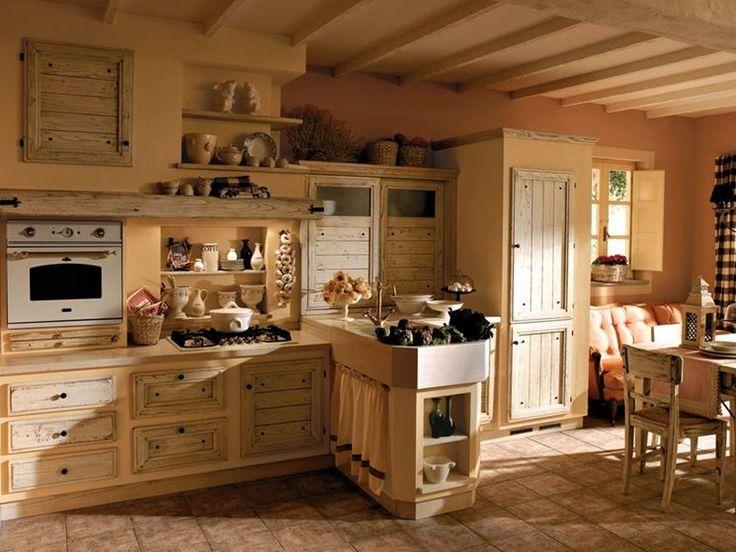 17 migliori idee su cucine in stile country su pinterest for Piani casa ultra contemporanei