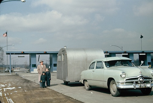 the PA Turnpike + 1950 Ford
