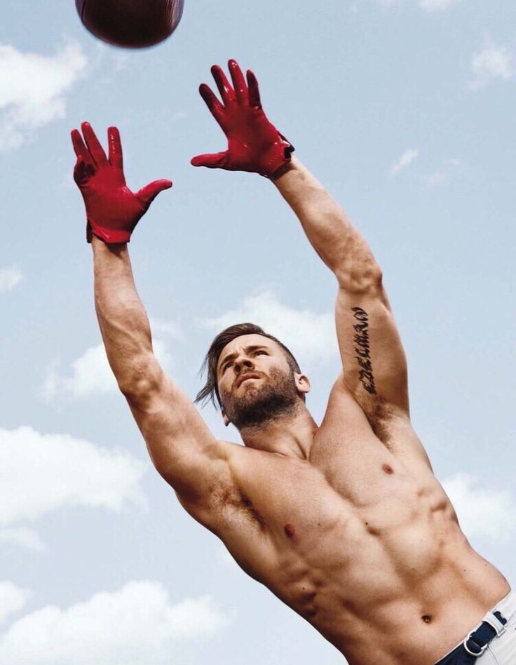 Julian Edelman: should never be allowed to wear or shirt, or just clothes in general.