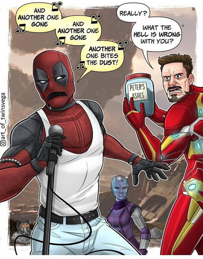 Inaccurate, Deadpool would be absolutely livid at Thanos for destroying his spidey