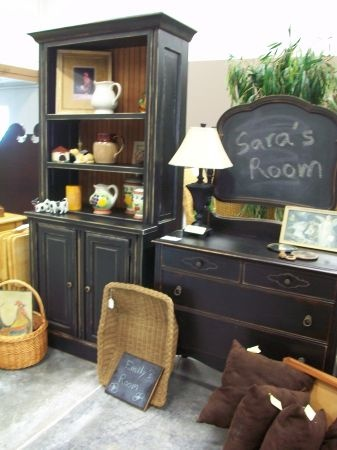 Minneapolis: Fabulous Black Country Cupboard $499   Http://furnishlyst.com/