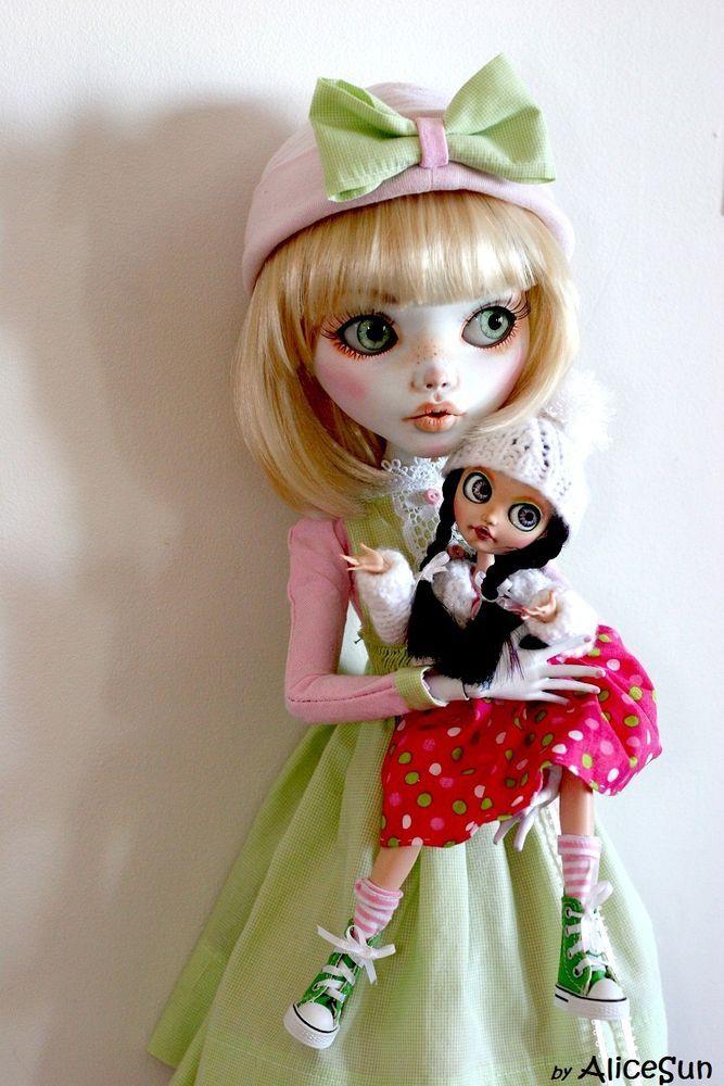 "OOAK Custom Monster High New  28"" art doll  bjd repaint Eva by AliceSun #DollswithClothingAccessories"
