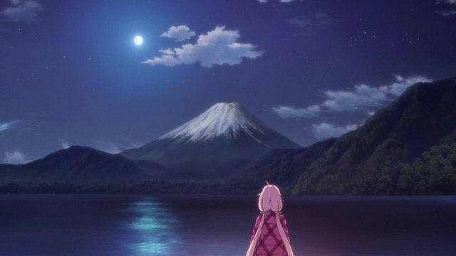 Mount Fuji And Curry Noodles Yuru Camp First Episode Impressions And Review Anime Scenery Anime Scenery Wallpaper Scenery Wallpaper