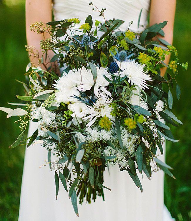 wild, woodsy bouquet #florals #bouquets