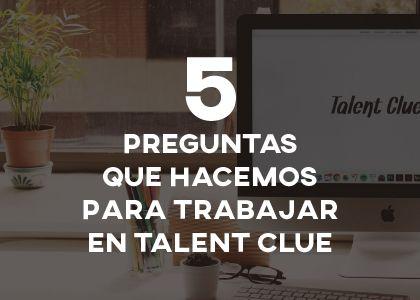 5 preguntas que hacemos en las entrevistas de Talent Clue (y qué nos revelan) @talentclue  #RRHH   #Entrevista #EntrevistaDeTrabajo #Selección #Reclutamiento #Recruitment #ProcesoDeSelección #Empleo #Trabajo #OrientacionLaboral #TalentClue #Talento