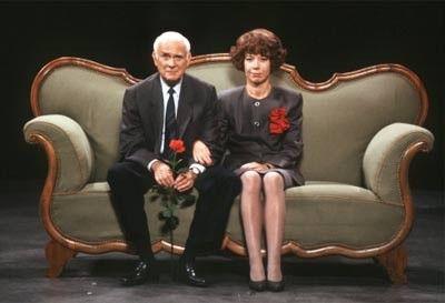 Vicco von Bülow & Evelyn Hamann  (Loriot von 1976 - 1979)