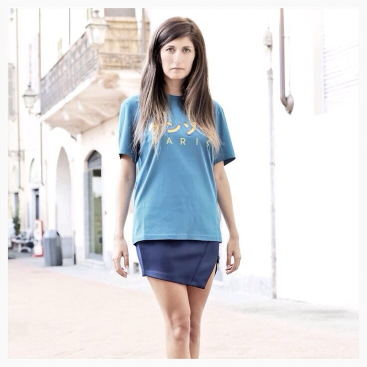 Special thanks to Valentina Siragusa for the beautiful post on www.factorystyleblog.com  T-shirt Kenzo f/w 2013/14