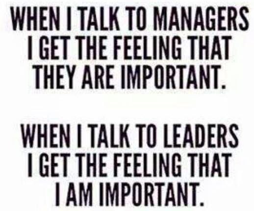 Managers Leaders Important