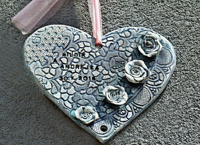 WEDDING HEART-ceramic