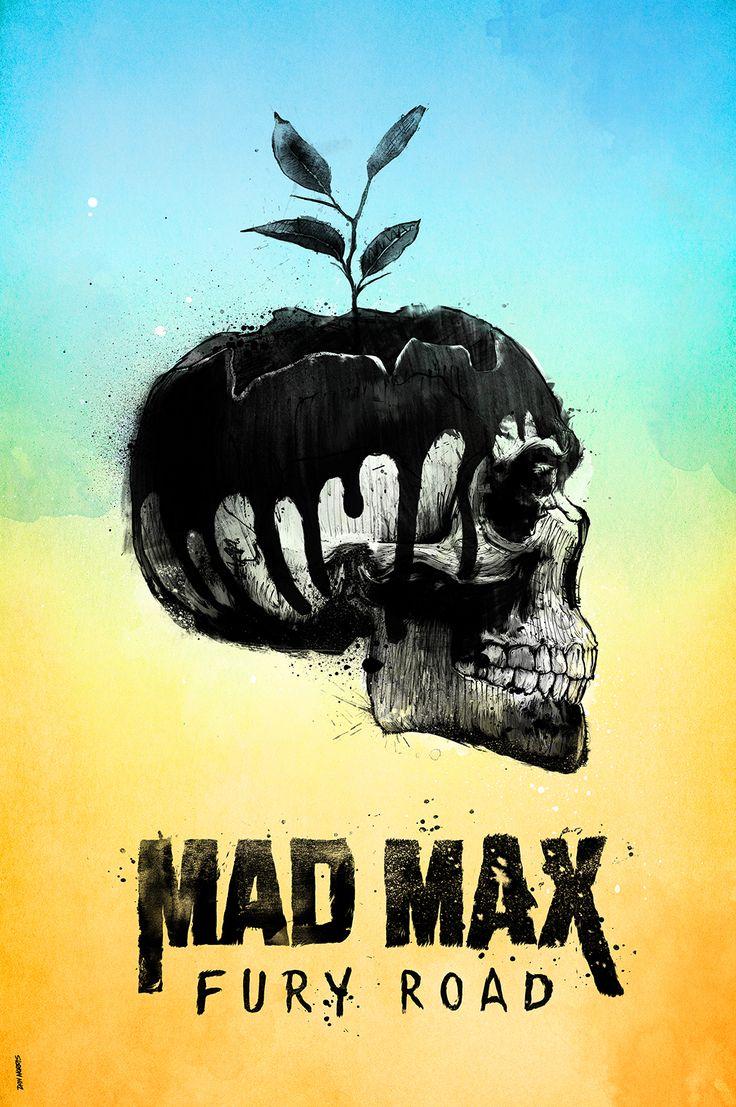 Mad Max: Fury Road (2015) ~ Alternative Movie Poster by Daniel Norris #amusementphile