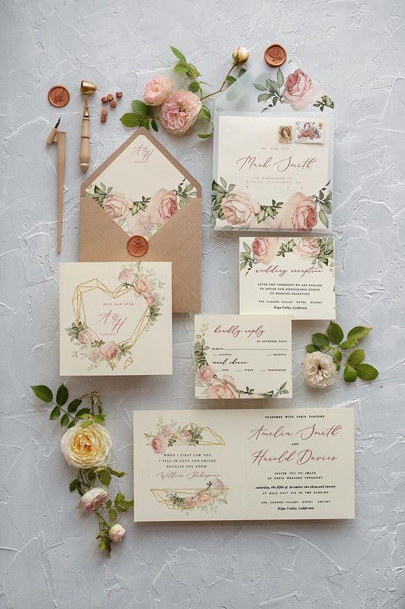 bloomy designs flowers Wedding stationery invitations mw8Nn0