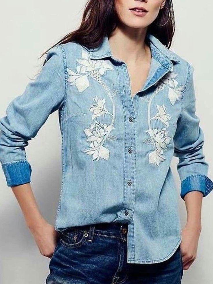 стечению обстоятельств фото декорируем джинсовую рубашку снежинки используя гель