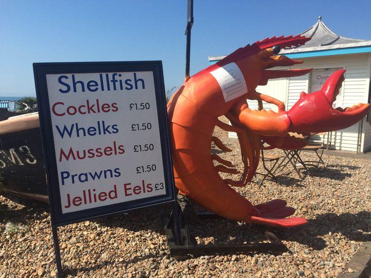 Giant prawn Brighton