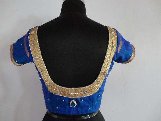 Bridal,Boutique,Designer Saree Blouse Designs-Part-V - IndusLadies