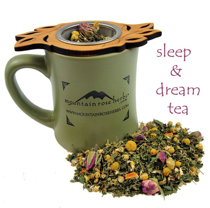 Sleep & Dream Tea blend recipeMountain Rose Herbs, Sleepy Time, Beds, Bath Soak, Night Sleep, Rest Night, Herbal Teas, Dreams Teas Blends, Herbal Sleep Dreams Teas