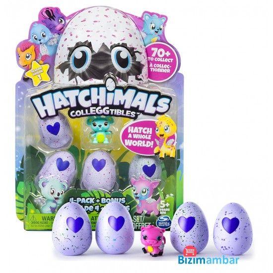 Hatchimals Colleggtibles Dörtlü Paket Oyuncak