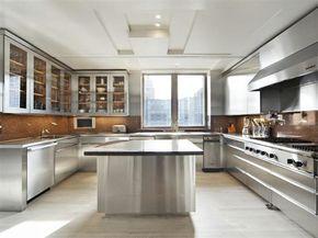 Stainless Steel Kitchen Cabinets. Küche IdeenModerne ...
