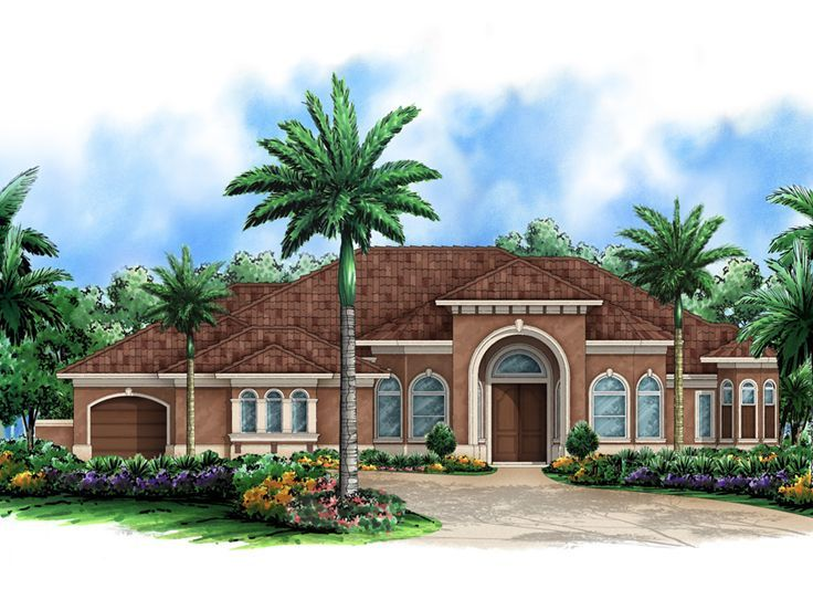 117 best Mediterranean House Plans images on Pinterest  Adobe house, Architecture and