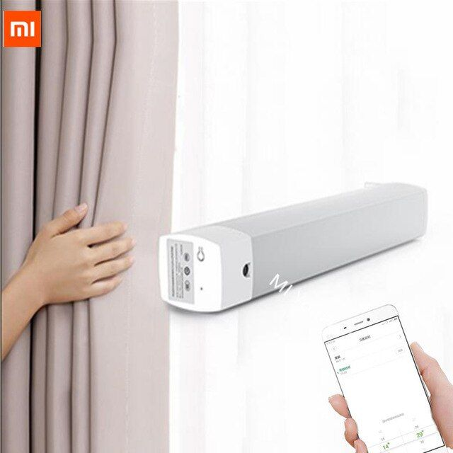 Xiaomi Aqara Rolling Shutter Motor Intelligent Smart Curtain Motor Zigbee Smart Home Mi Home App Remote Zigbee Smart Home