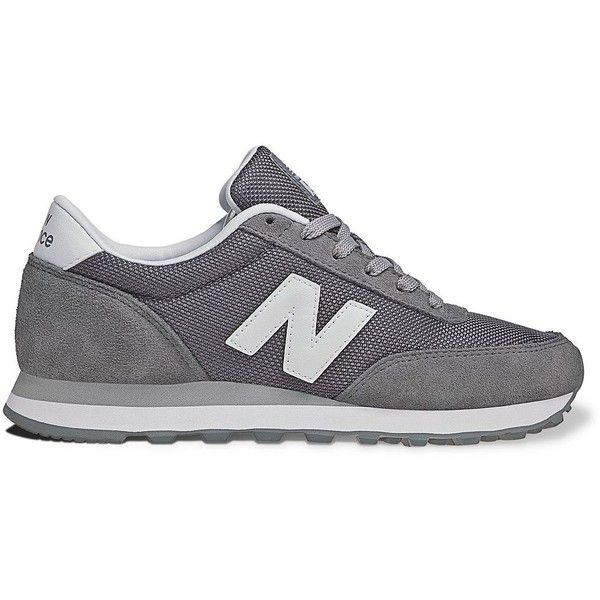 New Balance 501 Lifestyle Athletic Shoes - Women (€36) ❤ liked on Polyvore featuring shoes, sneakers, trainers, clothes - shoes, gray suede shoes, fleece-lined shoes, new balance shoes, lightweight shoes and light weight shoes
