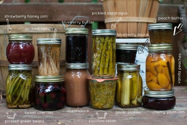 40 Links for Preserving Summer: Beginner tips, pro tricks and canning with honey. #DIY #canning #summer